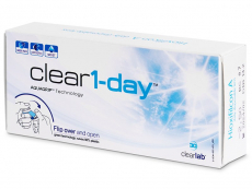 Clear 1-Day (30 Linsen)