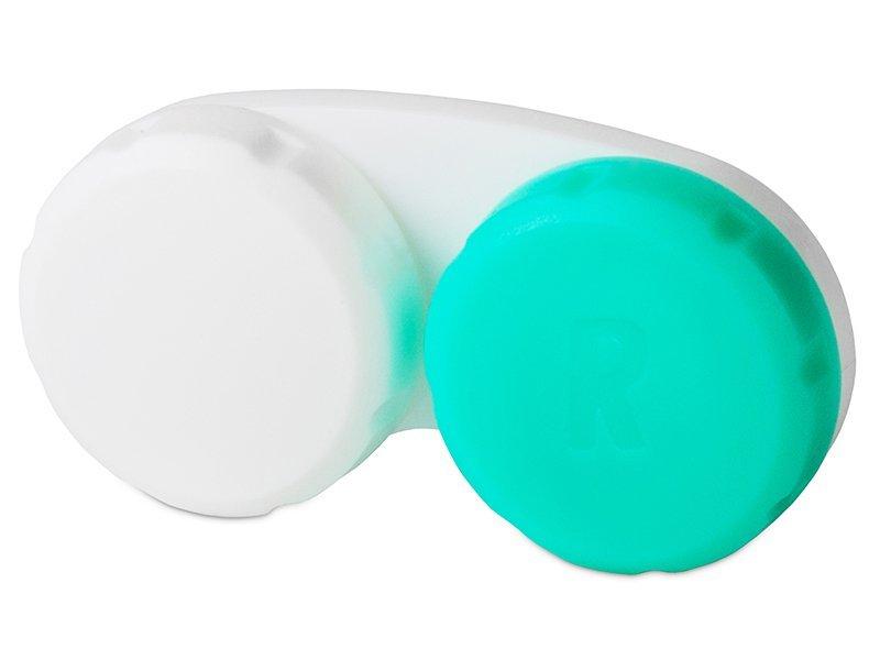 Behälter grün-weiß