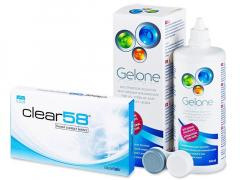 Clear 58 (6Linsen) +Gelone360ml
