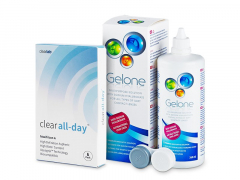 Clear All-Day (6Linsen) +Gelone360ml