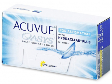 Acuvue Oasys for Astigmatism (12 Linsen)