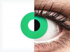 ColourVUE Crazy Lens - Emerald (Green) - ohne Stärke (2 Linsen)