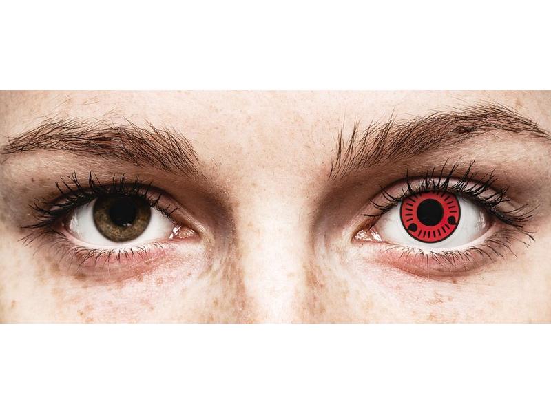 ColourVUE Crazy Lens - Sasuke - ohne Stärke (2 Linsen)