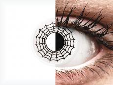 ColourVUE Crazy Lens - Spider - ohne Stärke (2 Linsen)