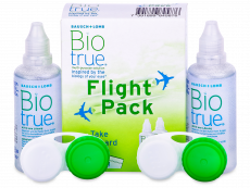 Biotrue Pflegemittel 2 x 60 ml Flight Pack