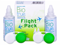 Biotrue Pflegemittel 2 x 60 ml Flight Pack