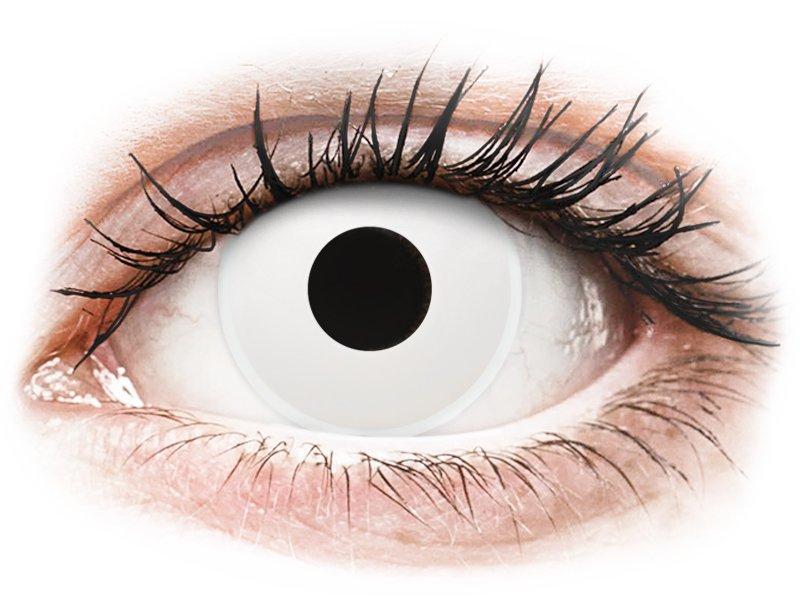 ColourVUE Crazy Lens - WhiteOut - ohne Stärke (2 Linsen)