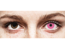 ColourVUE Crazy Glow Pink - ohne Stärke (2 Linsen)