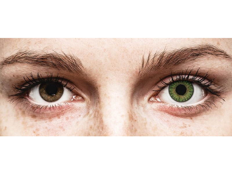 TopVue Color Tageslinsen - Green - ohne Stärke (10Linsen)