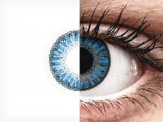 TopVue Color Tageslinsen - Sapphire Blue - mit Stärke (10Linsen)