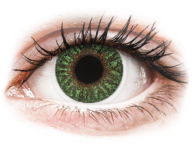 TopVue Color - Green - ohne Stärke (2 Linsen)