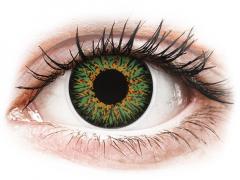 ColourVUE Glamour Green - ohne Stärke (2Linsen)