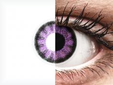 ColourVUE BigEyes Ultra Violet - ohne Stärke (2Linsen)