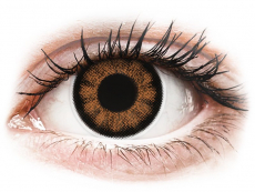ColourVUE BigEyes Sexy Brown - ohne Stärke (2Linsen)