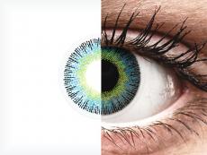 ColourVUE Fusion Yellow Blue - mit Stärke (2Linsen)