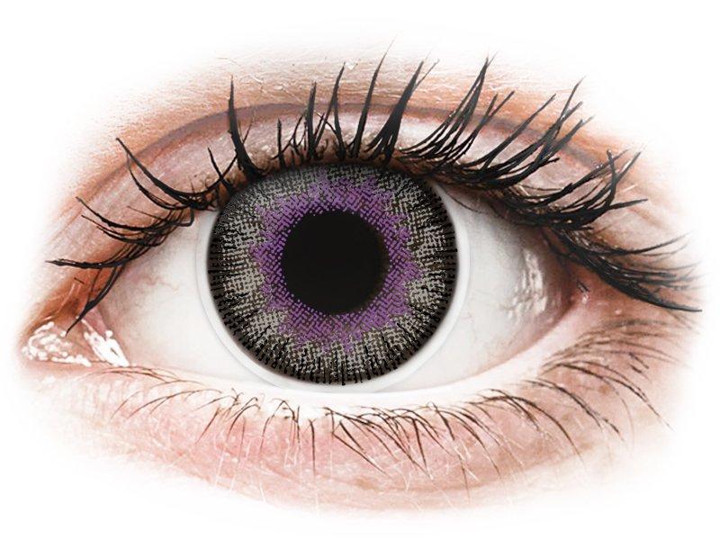 ColourVUE Fusion Violet Gray - ohne Stärke (2Linsen)