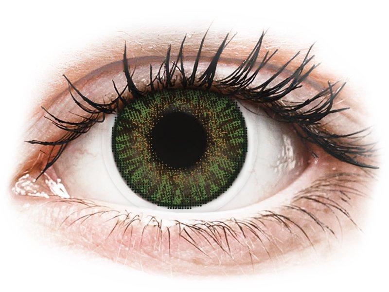 FreshLook ColorBlends Gemstone Green - ohne Stärke (2 Linsen)