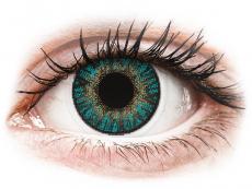 FreshLook ColorBlends Turquoise - mit Stärke (2 Linsen)