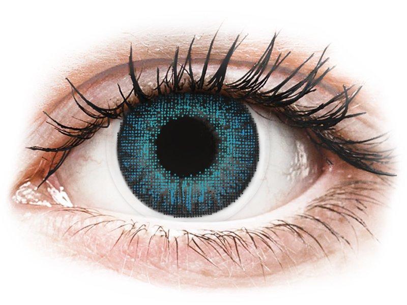 Air Optix Colors - Brilliant Blue - mit Stärke (2Linsen)