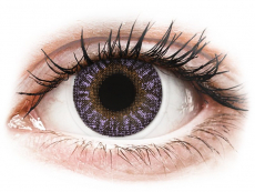 TopVue Color - Violet - mit Stärke (2Linsen)
