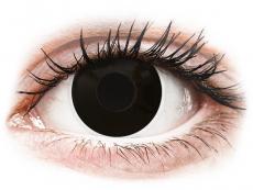 ColourVUE Crazy Lens - Blackout - Tageslinsen ohne Stärke (2 Linsen)
