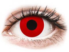 ColourVUE Crazy Lens - Red Devil - Tageslinsen ohne Stärke (2 Linsen)