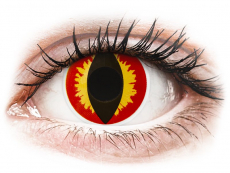 ColourVUE Crazy Lens - Dragon Eyes - Tageslinsen ohne Stärke (2 Linsen)