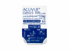 Acuvue Oasys 1-Day with HydraLuxe for Astigmatism (30 Linsen)