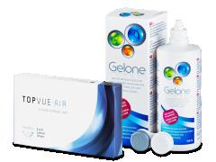 TopVue Air (6 Linsen) + Gelone 360 ml