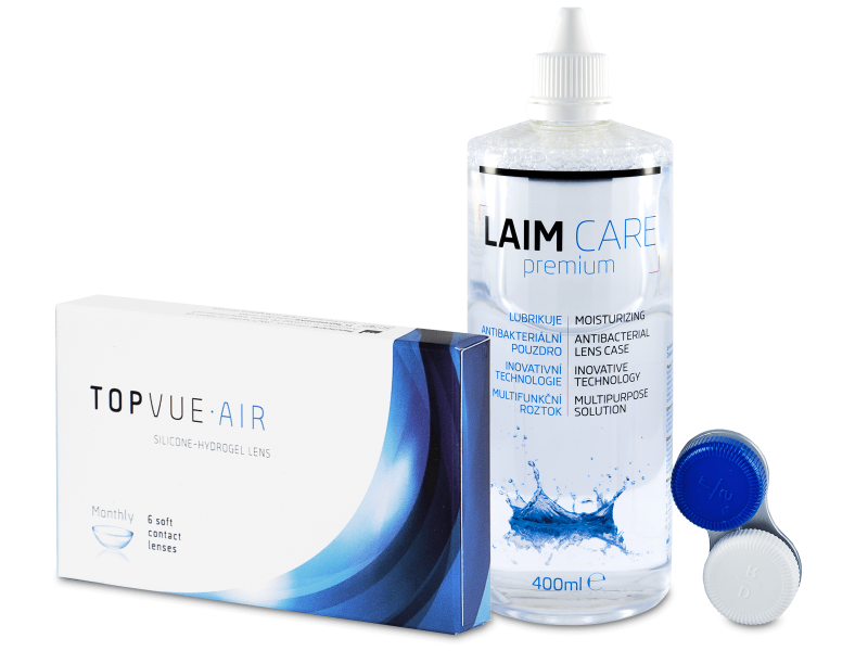 TopVue Air (6 Linsen) + Laim-Care 400 ml