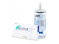 Acuvue 2 (6 Linsen) + Laim-Care 400 ml