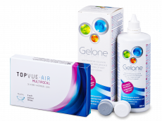 TopVue Air Multifocal (3 Linsen) + Gelone 360 ml