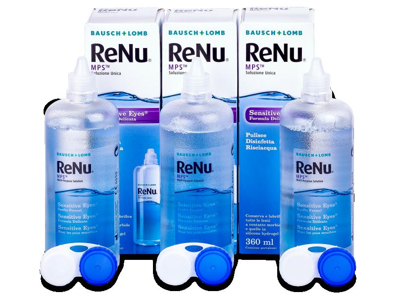 ReNu MPS Sensitive Eyes 3 x 360 ml