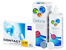 Carl Zeiss Contact Day 30 Spheric (6 Linsen) + Gelone 360ml