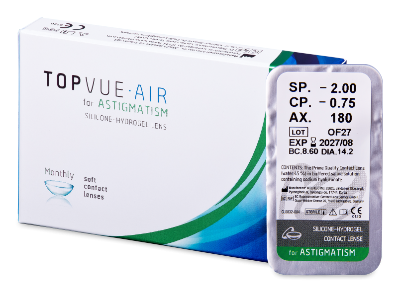 TopVue Air for Astigmatism (1 Linse)