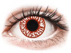 ColourVUE Crazy Lens - Blood Shot - Tageslinsen ohne Stärke (2Linsen)