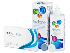 TopVue Plus (6 Linsen) +Gelone 360ml
