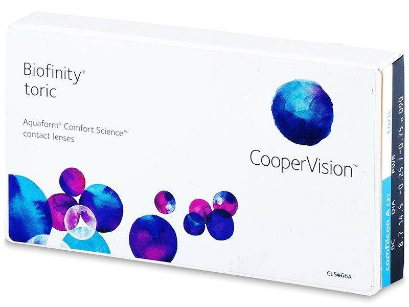 Biofinity Toric (3Linsen)