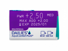Dailies AquaComfort Plus Multifocal (90 Linsen)