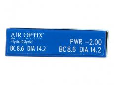 Air Optix plus HydraGlyde (6 Linsen)