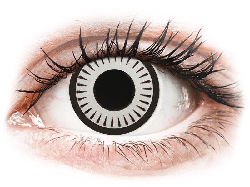 CRAZY LENS - Byakugan - Tageslinsen ohne Stärke (2 Linsen)