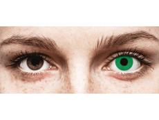 CRAZY LENS - Emerald Green - Tageslinsen ohne Stärke (2 Linsen)