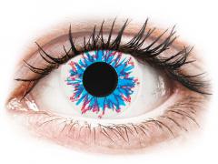CRAZY LENS - Harlequin - Tageslinsen ohne Stärke (2 Linsen)