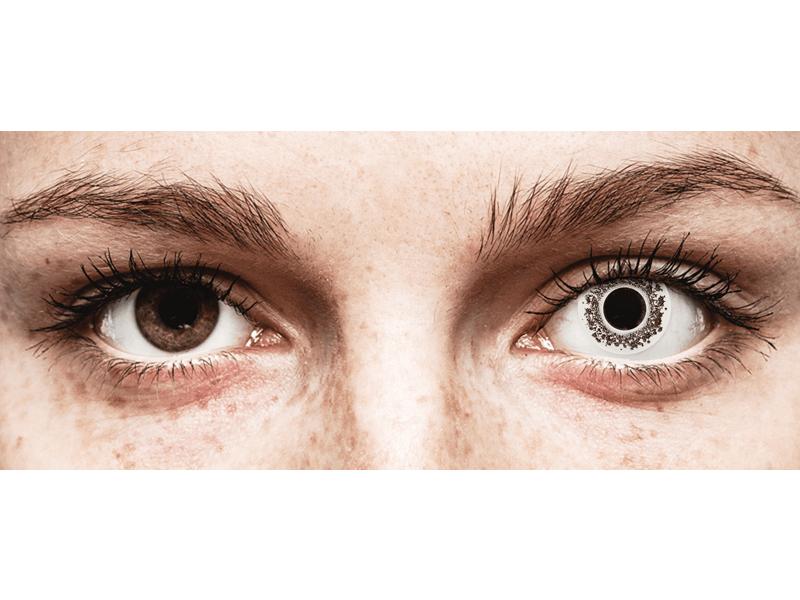 CRAZY LENS - Lord Snow - Tageslinsen ohne Stärke (2 Linsen)
