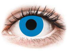 CRAZY LENS - Sky Blue - Tageslinsen ohne Stärke (2 Linsen)