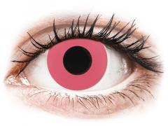 CRAZY LENS - Solid Rose - Tageslinsen mit Stärke (2 Linsen)