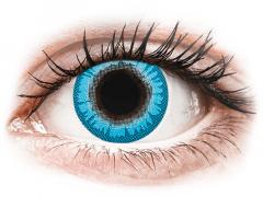 CRAZY LENS - White Walker - Tageslinsen mit Stärke (2 Linsen)