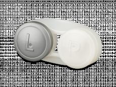 Antibakterieller Linsenbehälter - grau