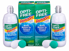 OPTI-FREE RepleniSH 2 x 300 ml
