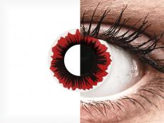 ColourVUE Crazy Lens - Blaze - ohne Stärke (2 Linsen)